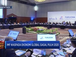 Peringatan IMF: Ekonomi Dunia Bisa Gagal Pulih Akibat Corona
