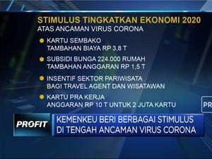 Ide Sri Mulyani Beri Stimulus Perekonomian Hadapi Corona