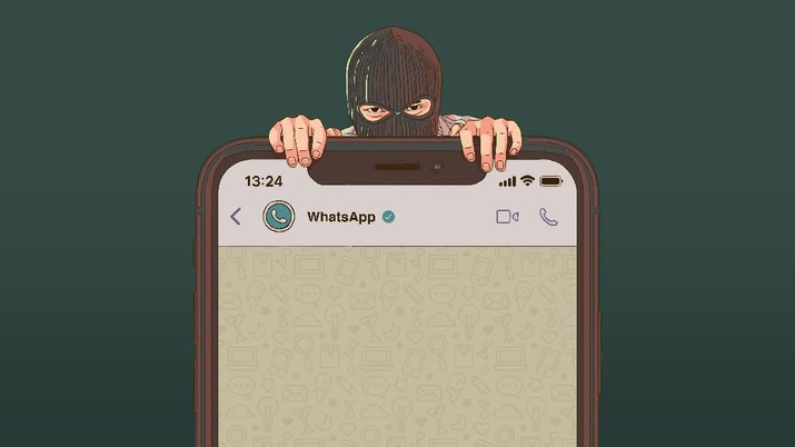 Infografis: Tips WhatsApp Aman dari Hacker