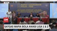 VIDEO: Satgas Mafia Bola Awasi Liga 1 & 2
