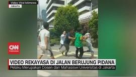 VIDEO: Aksi 'Prank' Pengeroyokan di Jalan Berujung Pidana