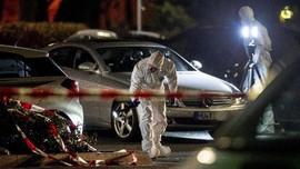 FOTO: Penembakan di Bar Jerman Tewaskan 8 Orang