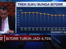 BI Pangkas BI7DRR  Sebesar 25bps Menjadi 4,75%