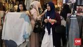 Muslim Fashion Festival 2020 digelar di Balai Sidang Jakarta mulai 20 hingga 23 Februari. CNNIndonesia/Safir Makki