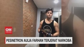 VIDEO: Pesinetron Aulia Farhan Terjerat Narkoba