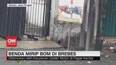 VIDEO: Penemuan Benda Mirip Bom di Brebes