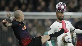 Tottenham vs RB Leipzig Imbang di Babak Pertama