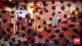 Muslim Fashion Festival 2020 menjadi titik temu antara desainer ternama dengan desainer yang baru merintis. CNNIndonesia/Safir Makki