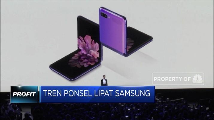 Samsung langsung memboyong empat ponsel flagship anyarnya ke Indonesia