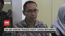 VIDEO: WNI ABK Diamond Princess Positif Corona Bertambah
