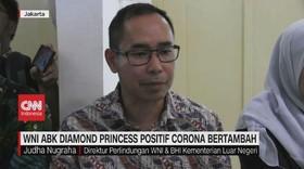 VIDEO: WNI ABK Diamond Princess Positif Corona Bertambah