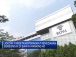 Jokowi Minta Peringkat Kemudahan Berbisnis di Posisi 40