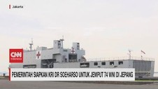 VIDEO: KRI Dr Soeharso Disiapkan untuk Jemput WNI di Jepang