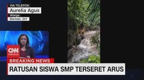 VIDEO - Warga: Siswa Memang Disuruh Turun ke Sungai