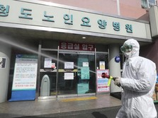 Mewabah, Kasus Corona di Korea Selatan Hampir 6.000