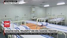 VIDEO: Kesiapan Kapal Penjemput WNI Kru Diamond Princess