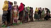 Selama tiga tahun terakhir, Organisasi Internasional untuk Migrasi (IOM) melaporkan Arab Saudi mendeportasi 9.000 orang Ethiopia setiap bulannya.(AP Photo/Nariman El-Mofty)