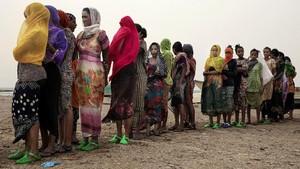 FOTO: Perjuangan Imigran Ethiopia Perbaiki Nasib di Saudi