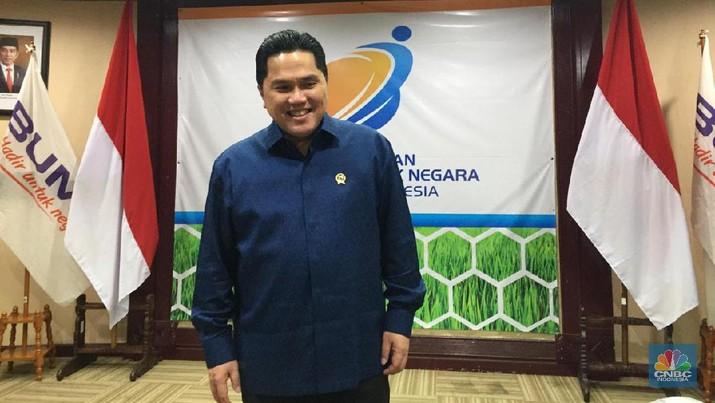 Menteri BUMN Erick Thohir (CNBC Indonesia/Monica Wareza)
