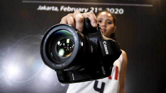Spesifikasi Canon EOS-1D X Mark III, Dijual Seharga DP Rumah