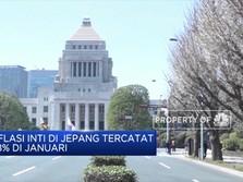 BOJ Tertekan Melihat Inflasi Jepang