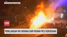 VIDEO: Pemulangan WN Ukraina dari Wuhan Picu Kerusuhan