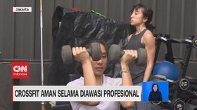 VIDEO: Crossfit Aman Selama Diawasi Profesional