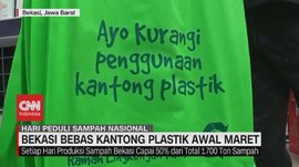 VIDEO: Bekasi Bebas Kantong Plastik Awal Maret