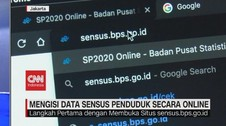 VIDEO: Begini Cara Mengisi Data Sensus Penduduk Secara Online