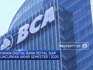 BCA Ubah Bank Royal Jadi Bank Digital Akhir Semester I-2020