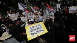 Massa Aksi 212 Ingin Temui Jokowi di Istana