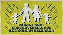 INFOGRAFIS: Pasal-pasal Kontroversial RUU Ketahanan Keluarga