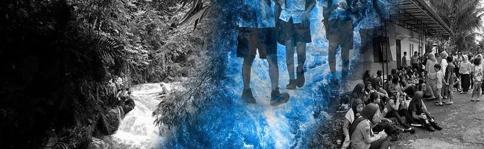 Siswa SMP Terseret Arus Sungai