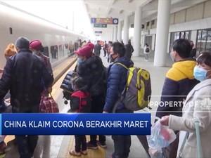 China Sebut Wabah Corona Reda di Maret, Masa Sih?