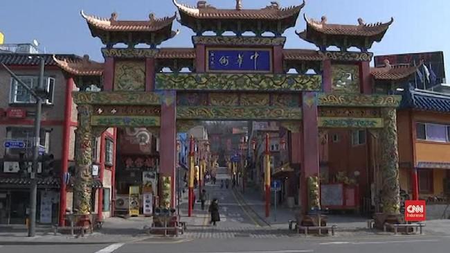 VIDEO: Imbas Corona, Restoran China di Korsel Sepi Pengunjung