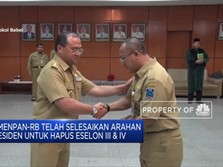 Kementerian PAN-RB Rampung Pangkas Eselon III dan IV