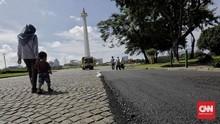 Tim Komrah Ungkap Temuan Pengecekan di Cobble Stone Monas