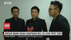 VIDEO: Group Band Noah Gantikan BCL di Love Fest 2020