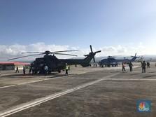 Keren! Jokowi Jajal Helikopter Baru TNI di Aceh