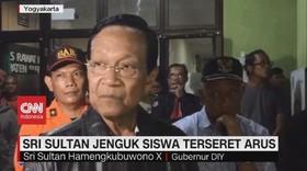 VIDEO: Sri Sultan Jenguk Siswa Terseret Arus