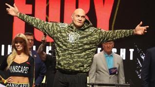 Sumbangan Spesial Tyson Fury untuk Tenaga Medis Corona