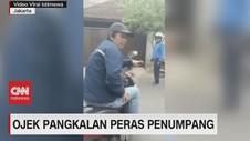 VIDEO: Viral, Ojek Pangkalan Peras Penumpang