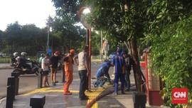 Ketua DPRD Tuding Proyek Trotoar Anies Picu Banjir