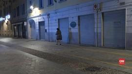 VIDEO: Pasien Virus Corona di Italia Meninggal, Warga Panik