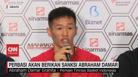 VIDEO: Perbasi Akan Berikan Sanksi Abraham Damar
