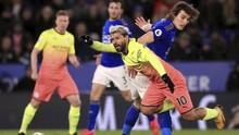 Hasil Liga Inggris: Man City Kalahkan Leicester