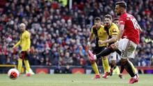 Hasil Liga Inggris: MU Kalahkan Watford 3-0