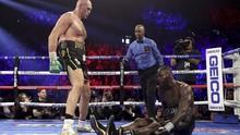 Babak Belur Dihajar Tyson Fury, Wilder Dilarang Bertanding