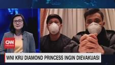 VIDEO: WNI Kru Diamond Princess Ingin Dievakuasi