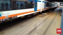 Rute KRL Jabodetabek yang Terdampak Banjir Jakarta
